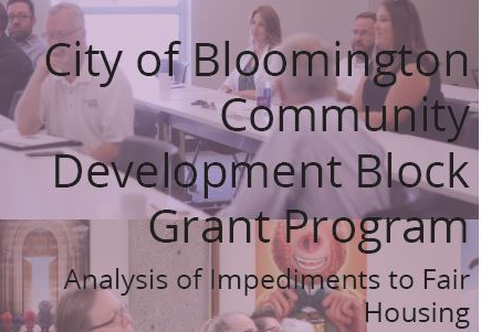City of Bloomington Analysis of Impediments to Fair Housing