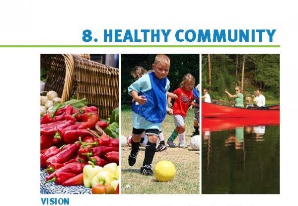 Healthy Community Chapter from City of Bloomington Comprehensive Plan