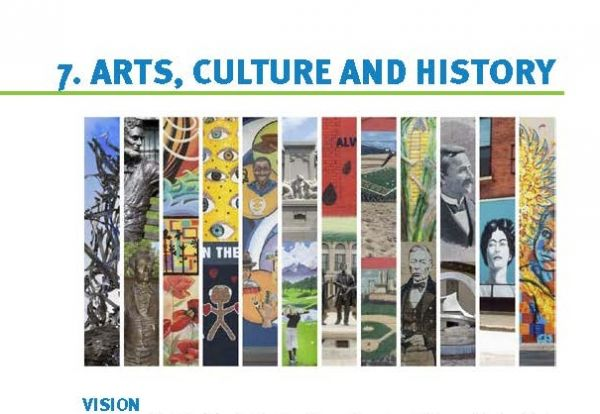 Arts, Culture and History Chapter from City of Bloomington Comprehensive Plan