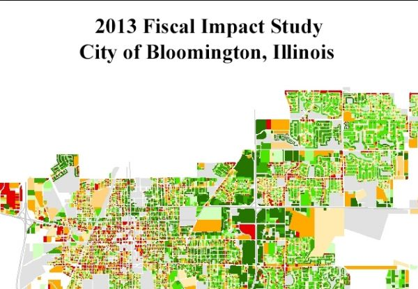 2013 Fiscal Impact Study City of Bloomington